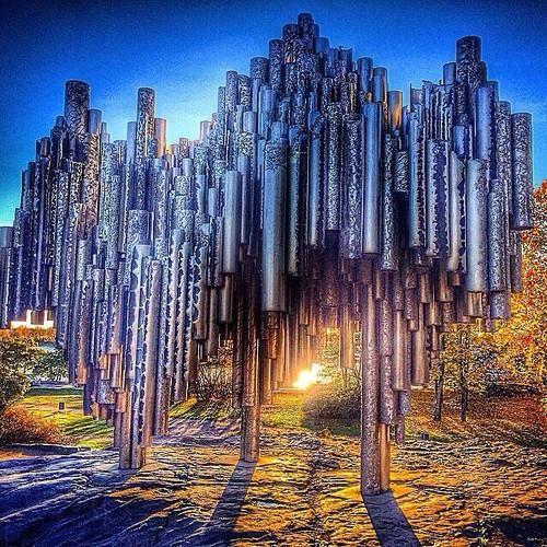 Sibelius Monument, Helsinki...