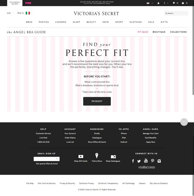 #shoppingGuide VS - The Angel Bra Guide - Find your perfect Fit