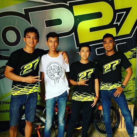 《PALING BARU》 T-shirt OP27 Factory Racing TOP27-021 Black  087845622777 (WA, SMS, & Telp) / D17560D1 (BBM) / op27factory (LINE)