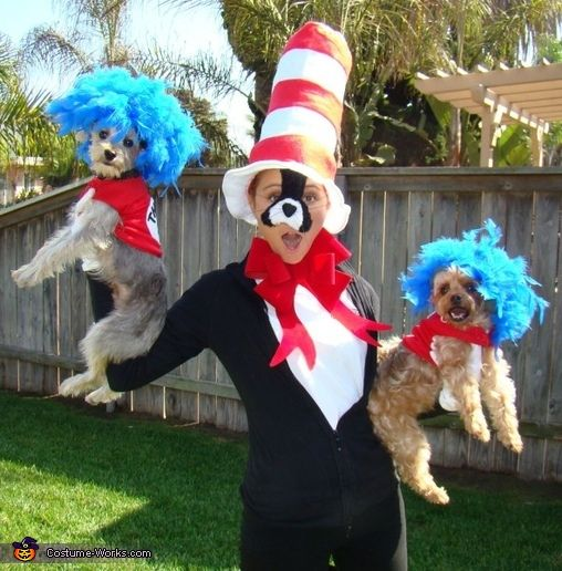 38 best pets wear costumes too images on pinterest animal thing one thing two halloween costume contest at costume works solutioingenieria Image collections