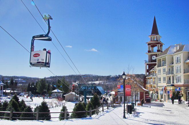 Getting around in Mont Tremblant, Quebec
