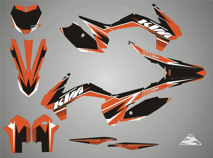 Ktm Stickers Race Stickers Decals Helmet Decal Motorcycle