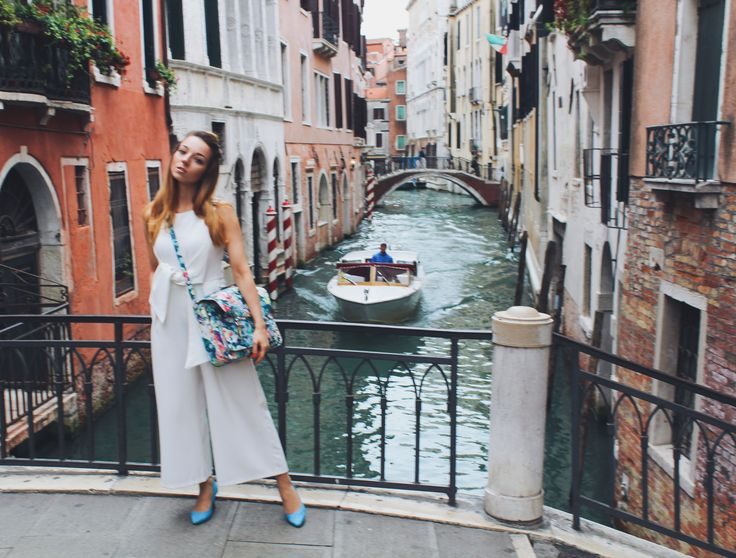 Somewhere in the dreamy Venice... ♥ | Outfit | Jumpsuit | Street Chic