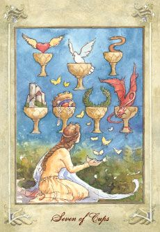 Resultado de imagem para seven cups tarot