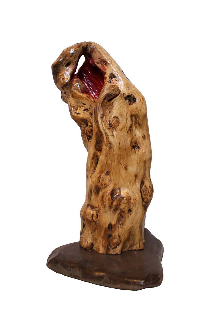 """Fischer Bernhard - Holzskulpturen / Wooden sculptures  """"Adore"""""""