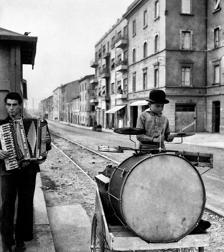 Periferia, anni '50 © Nino Migliori