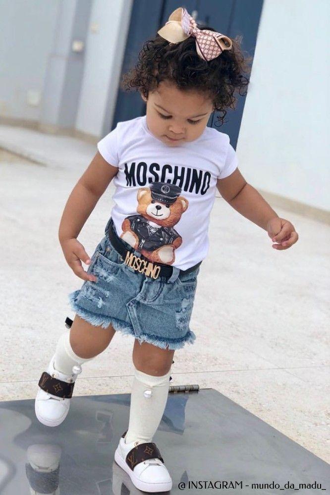 Shop Moschino Designer Kids Clothing Italy Dashin Fashion Celebrity Kids Fashion Designer Kids Clothes Baby Fashion