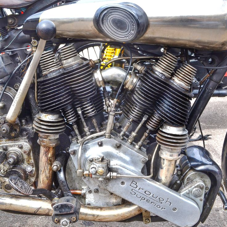 Brough Superior motorcycle engine