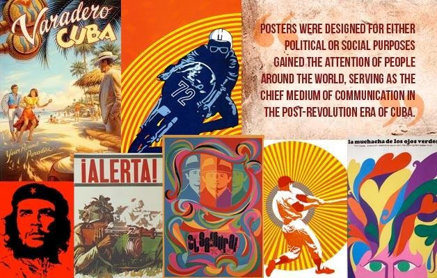 Whether they depict movies, politics or the beach, these Cuban posters are vintage and timeless in its artistic appeal. Read more: http://www.vidadelatinos.com/article/vintage-cuban-posters