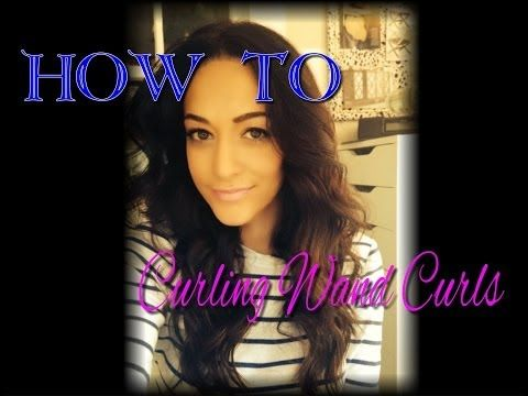 {Beauty How To} Curling Wand Curls