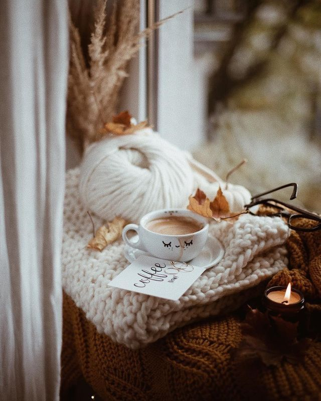 домашняя тушенка картинки осенний день одеяло кофе внутренней стороне
