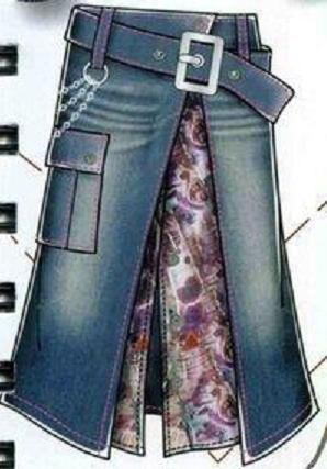 юбка из джинсов 39 (298x427, 101Kb)