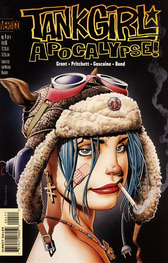 Tank Girl Apocalypse! art by Brian Bolland