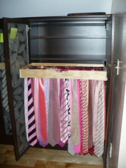 Tie Storage Storage Solutions And Closet On Pinterest