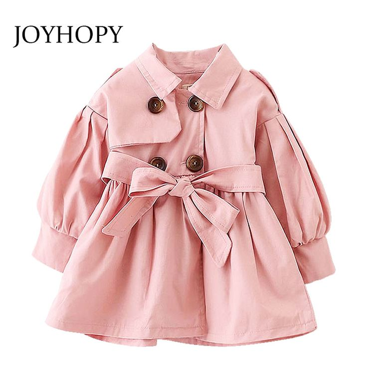 Cheap girls trench coats, Buy Quality fashion outwear directly from China girls trench Suppliers:  Girls Trench Coat Spring 2017 Children Clothing Kids Blazer Jackets Baby Girls Clothes Fashion Infant Toddler Outwear