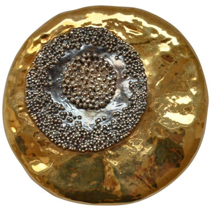 Sasso magnetic brooch by Giorgio Vigna, 2015 - unique - Artist…