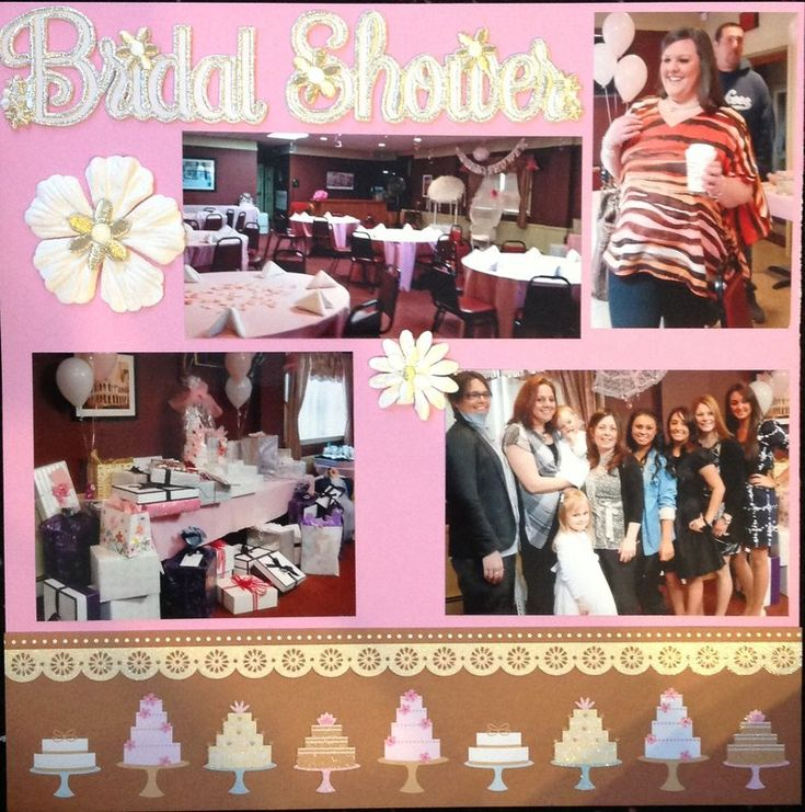 Bridal+shower.+Page+1 - Scrapbook.com