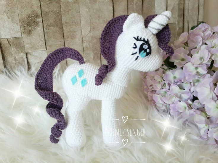 Amigurumi my little pony rarity