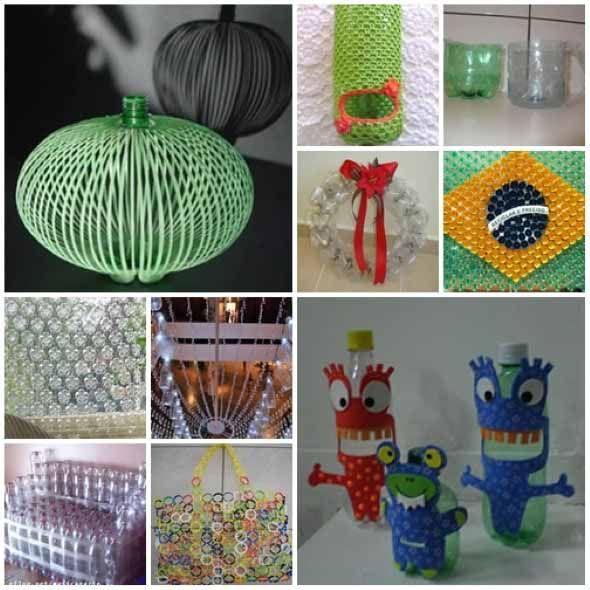 Artesanato Ideias Incriveis ~ 25+ best ideas about Artesanato com pet on Pinterest Reciclagem com garrafa pet, Artesanato