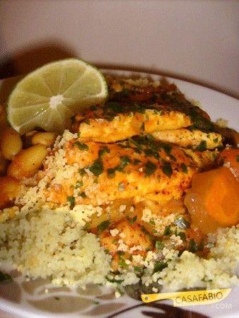 Casa Fabio - Recettes du Monde: Couscous de poisson (Sicile)