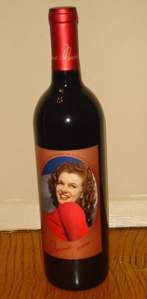 1999 Norma Jeane 2nd Second Vintage Marilyn Monroe Merlot Red Wine Collectable  #MarilynMerlotNormaJeane