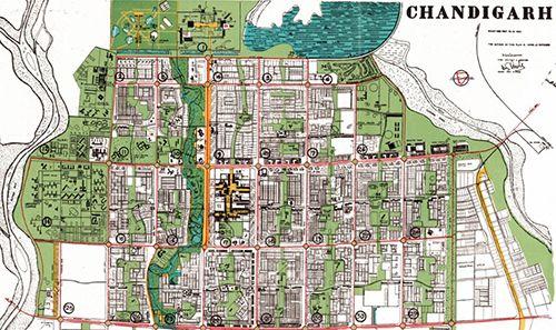 le corbusier chandigarh plan - Google'da Ara