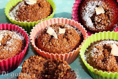 Di gotuje: Czekoladowo-kokosowe babeczki z mleka skondensowan...