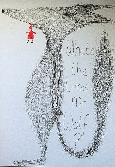 What's the time Mr Wolf by Hazel Terry,