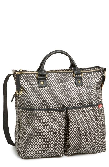 Free shipping and returns on Skip Hop 'Duo - Special Edition' Diaper Bag at Nordstrom.com. A chic, modern pattern and parent-friendly features like a secure top-zip closure, easy-access tech pocket and convenient tote handles update a spacious, versatile diaper bag that's a must-have for excursions with your little one.