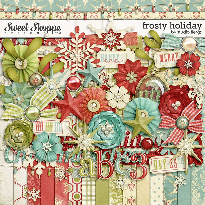 Frosty Holiday by Studio Flergs
