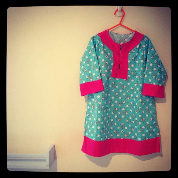 Tunic from pattern by @madebyrae