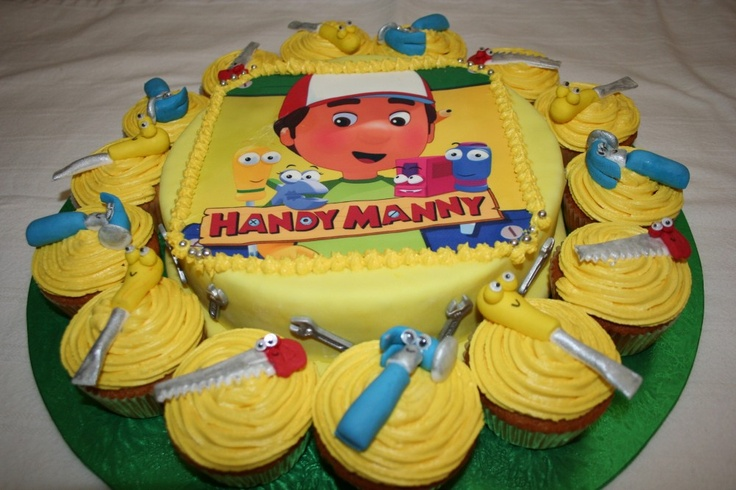 Handy Manny Cake Ideas