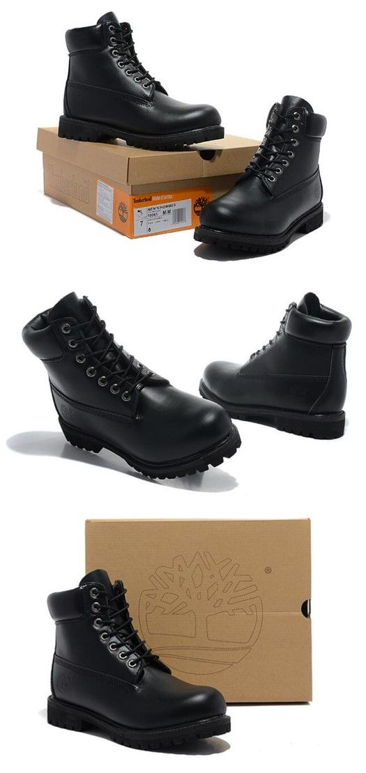 Timberland Womens 6 Inch Bright Leather Boot-All Black,Fashion Black Timberland Womens Boots,New timberland classics Boots 2016,timberland style boots,customized timberland boots