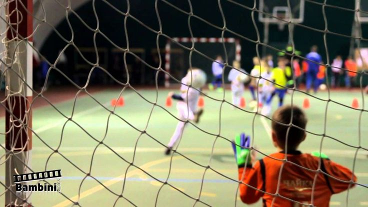 Детский футбол. Видеоролик. Bambini Studio