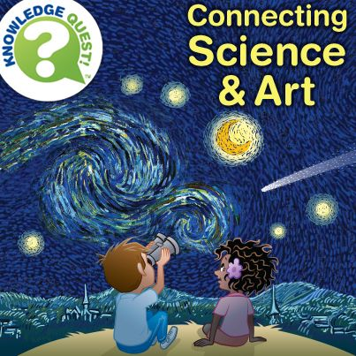 Check out this blog post about using famous artworks to teach science. STEAM