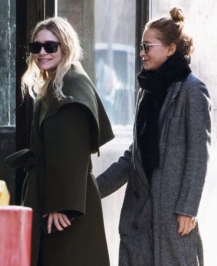 Ashley and Mary-Kate Olsen, 2017.