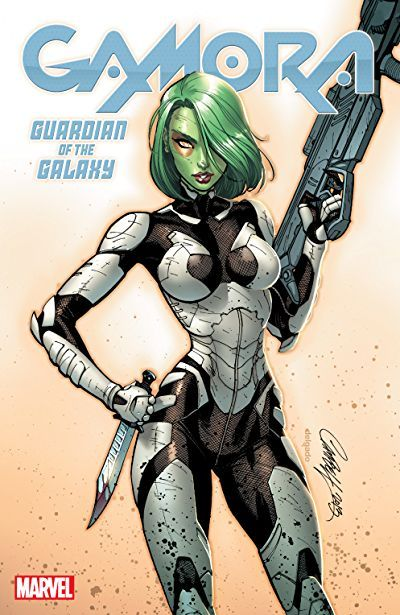 Gamora: Guardian Of The Galaxy Cover by J. Scott Campbell