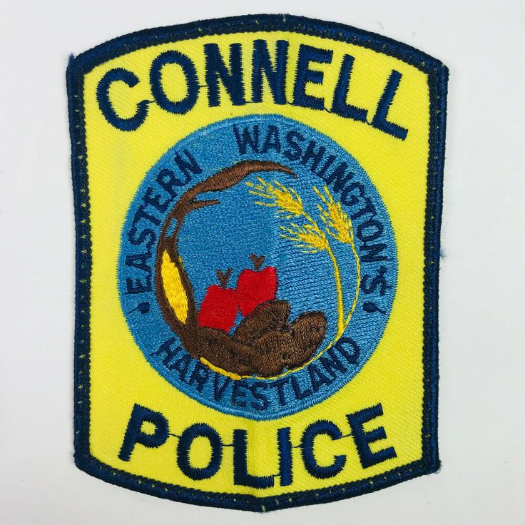 Connell police franklin county washington patch in 2020