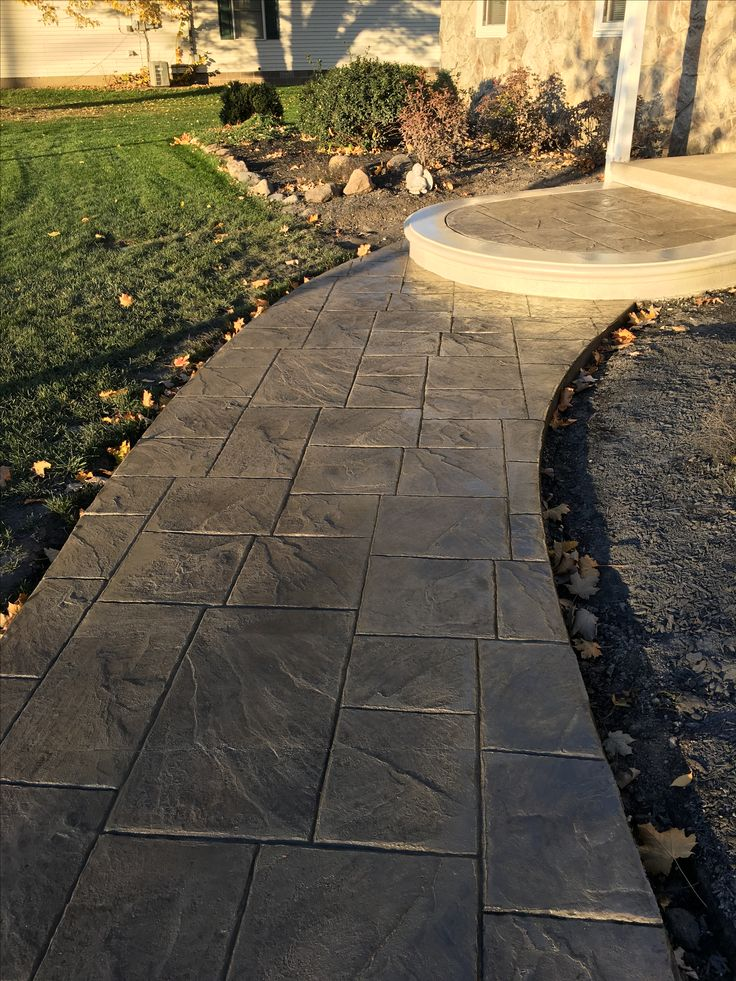 1000 Ideas About Stamped Concrete On Pinterest Stamped