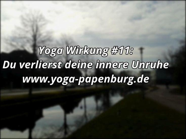 3 einfache Gründe, warum du mit Yoga deine innere Unruhe verlierst und Entspannung realisierst