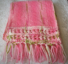Hand Woven Scarf by RJKnitNWeave on Etsy, $15.00