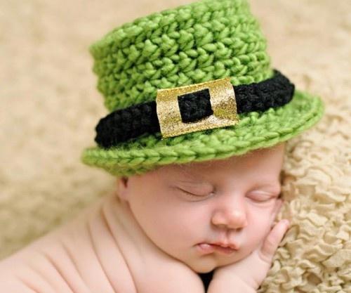 St. Patricks Day 2013 - Baby's St. Patrick's Day HAt