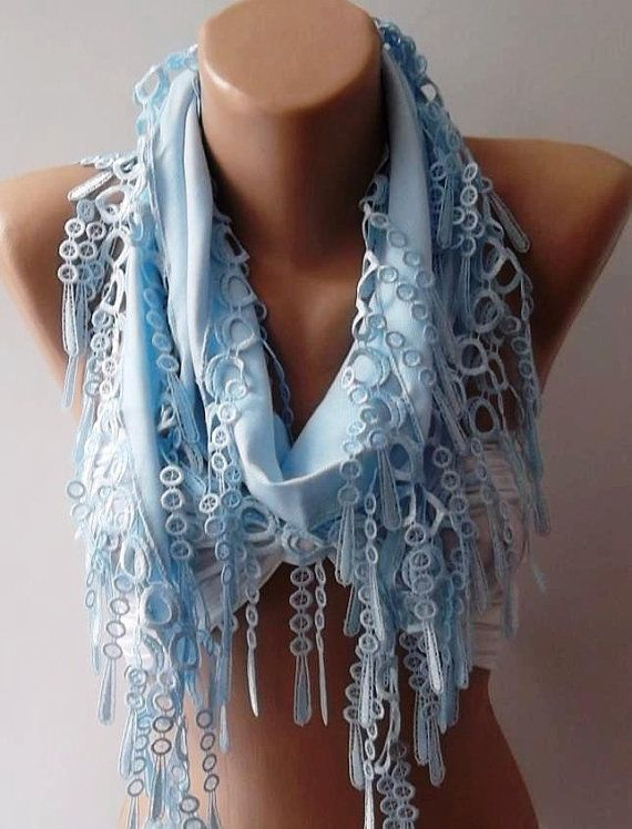 so gorgeous: Lights, Lace, Blue Pashmina, Style, Clothes, Elegance Shawl, Scarfs, 15 00