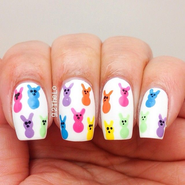Easter Nail Art Designs: Best 25+ Easter Nail Art Ideas On Pinterest