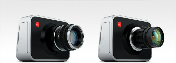 Blackmagic Cinema Camera with two mounts Ef and MFT