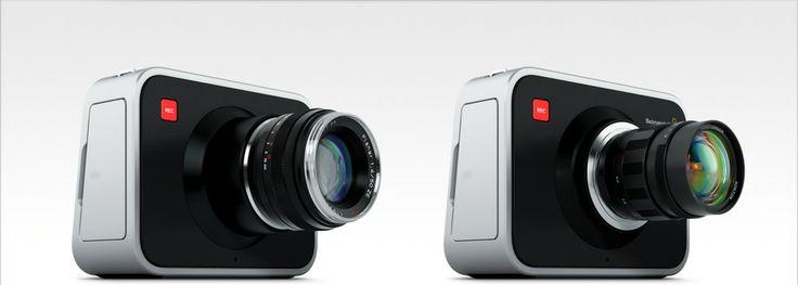 Blackmagic Cinema Camera with two mounts Ef and MFT