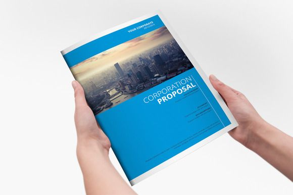 Check out Clear Corporate Template Brochure by Creative Template on Creative Market