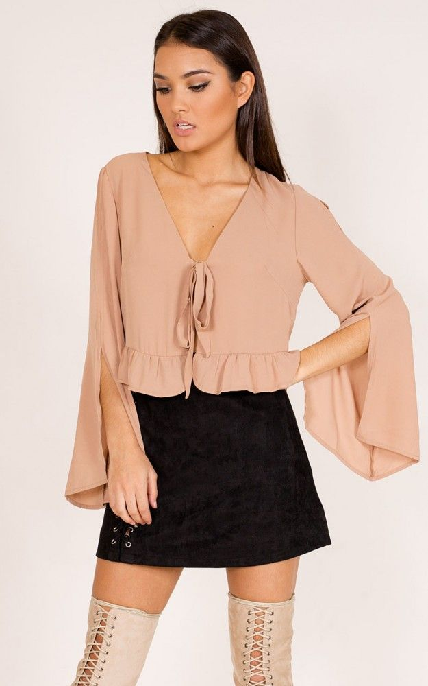 Relocate top in camel SHOWPO Fashion Online
