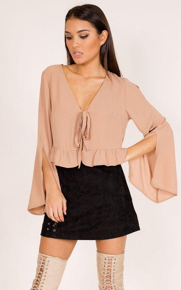 Relocate top in camel SHOWPO Fashion Online