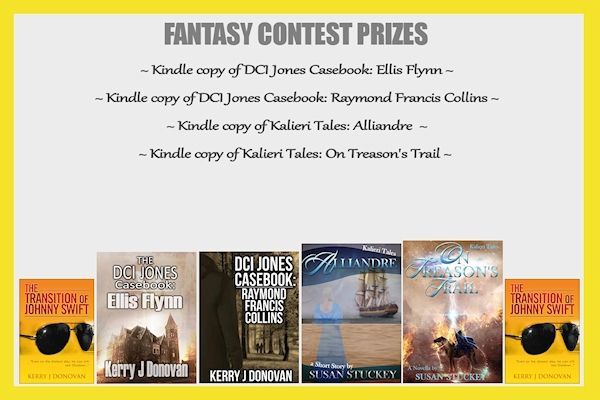 So since the Britain's Next Bestseller website is still having a few technical issues, I thought it would be a good time to announce a brand new contest that wasn't in the original line up! The lovely author who donated her books to this contest was also the victim of a few technical issues..
